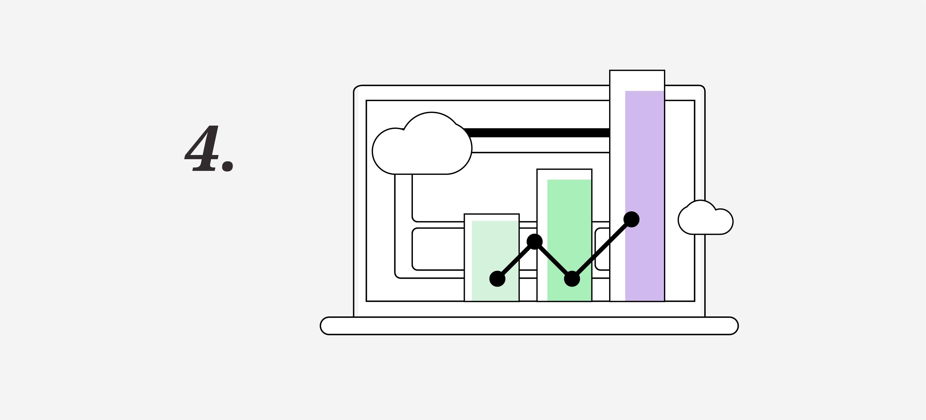 Elementos landing page, analítica web